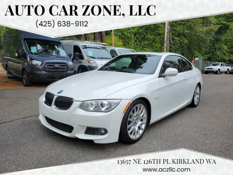2013 BMW 3 Series for sale at Auto Car Zone, LLC in Kirkland WA