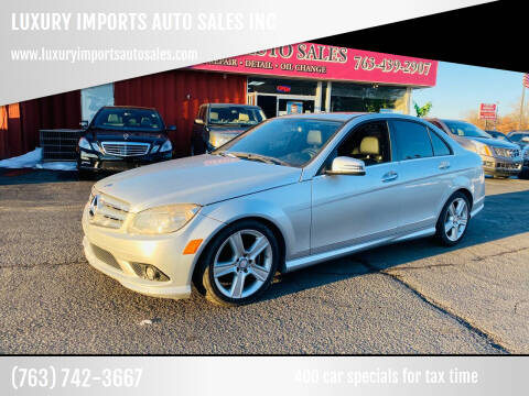 2010 Mercedes-Benz C-Class for sale at LUXURY IMPORTS AUTO SALES INC in North Branch MN
