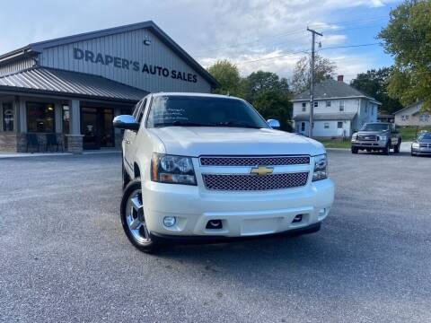 2012 Chevrolet Suburban for sale at Drapers Auto Sales in Peru IN