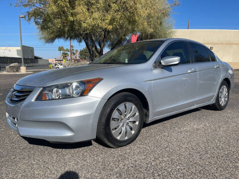 2012 Honda Accord for sale at Tucson Auto Sales in Tucson AZ