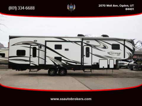 2015 Heartland Torque Fifth Wheel TH for sale at S S Auto Brokers in Ogden UT