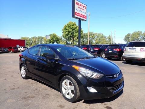 2012 Hyundai Elantra for sale at Marty's Auto Sales in Savage MN