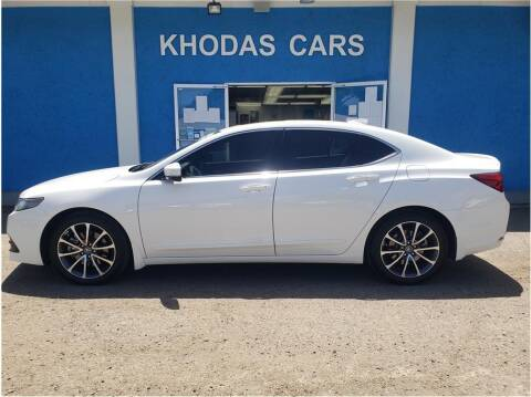 2016 Acura TLX for sale at Khodas Cars in Gilroy CA