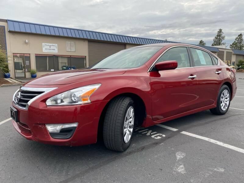 2015 Nissan Altima for sale at Exelon Auto Sales in Auburn WA