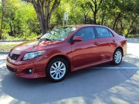 2010 Toyota Corolla for sale at ACH AutoHaus in Dallas TX