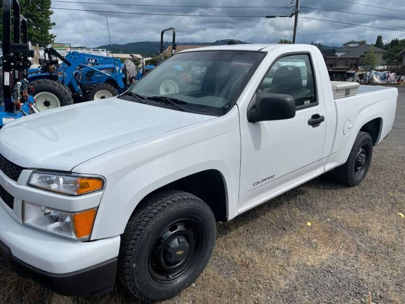 2005 Chevrolet Colorado for sale at DirtWorx Equipment - Trucks in Woodland WA