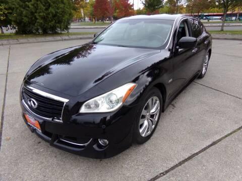 2012 Infiniti M35h for sale at Signature Auto Sales in Bremerton WA