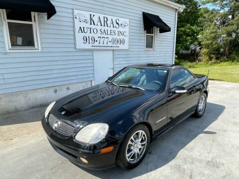 2003 Mercedes-Benz SLK for sale at Karas Auto Sales Inc. in Sanford NC