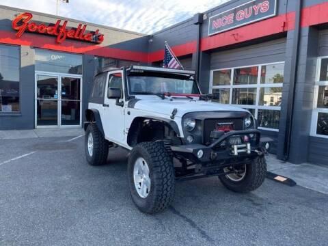 2015 Jeep Wrangler for sale at Goodfella's  Motor Company in Tacoma WA