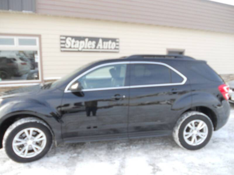 2017 Chevrolet Equinox for sale at STAPLES AUTO SALES in Staples MN