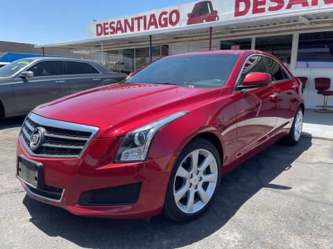 2013 Cadillac ATS for sale at DESANTIAGO AUTO SALES in Yuma AZ