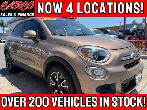 2017 FIAT 500X for sale at CARCO SALES & FINANCE - CARCO OF POWAY in Poway CA