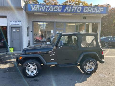 1999 Jeep Wrangler for sale at Vantage Auto Group in Brick NJ