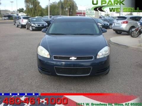 2012 Chevrolet Impala for sale at UPARK WE SELL AZ in Mesa AZ