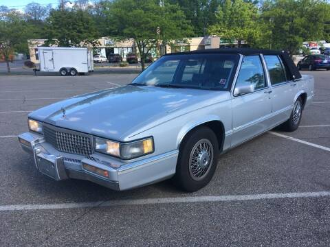 1990 Cadillac DeVille for sale at Borderline Auto Sales in Loveland OH