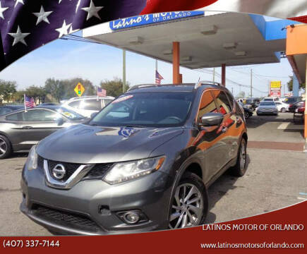 2014 Nissan Rogue for sale at LATINOS MOTOR OF ORLANDO in Orlando FL