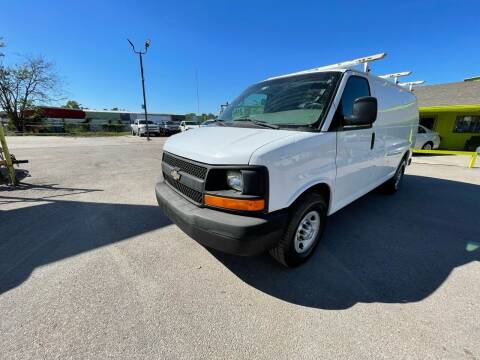 2012 Chevrolet Express Cargo for sale at RODRIGUEZ MOTORS CO. in Houston TX