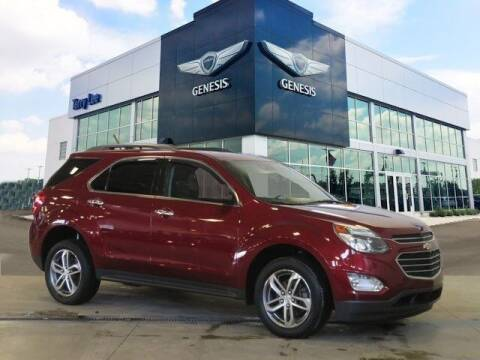 2017 Chevrolet Equinox for sale at Terry Lee Hyundai in Noblesville IN