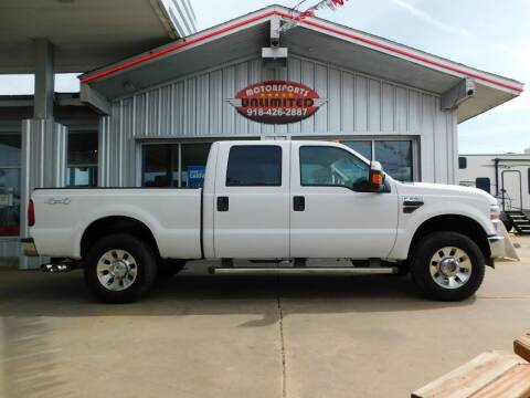 2009 Ford F-250 Super Duty for sale at Motorsports Unlimited in McAlester OK