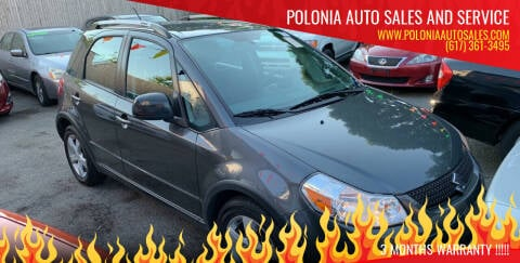 2010 Suzuki SX4 Crossover for sale at Polonia Auto Sales and Service in Hyde Park MA