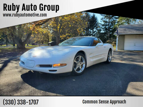 2004 Chevrolet Corvette for sale at Ruby Auto Group in Hudson OH