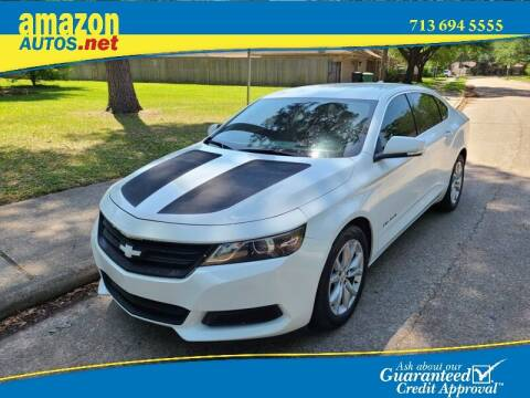 2017 Chevrolet Impala for sale at Amazon Autos in Houston TX