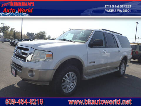 2007 Ford Expedition EL for sale at Bruce Kirkham Auto World in Yakima WA