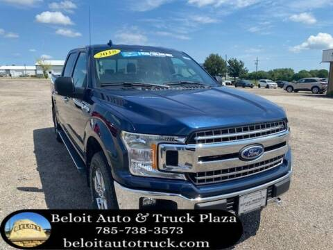 2018 Ford F-150 for sale at BELOIT AUTO & TRUCK PLAZA INC in Beloit KS
