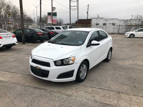 2013 Chevrolet Sonic for sale at Saipan Auto Sales in Houston TX