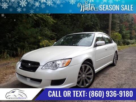 2009 Subaru Legacy for sale at EAGLEVILLE MOTORS LLC in Storrs CT