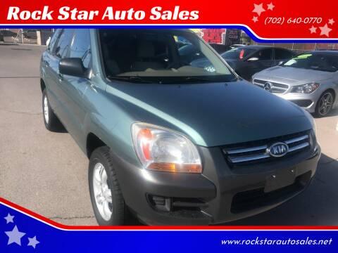 2006 Kia Sportage for sale at Rock Star Auto Sales in Las Vegas NV