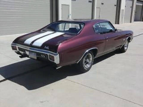 1970 Chevrolet Chevelle for sale at Hines Auto Sales in Marlette MI