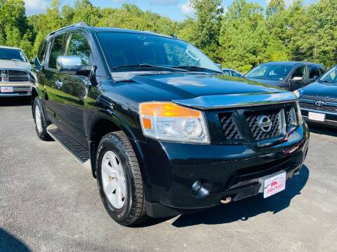 2010 Nissan Armada for sale at MBL Auto Woodford in Woodford VA