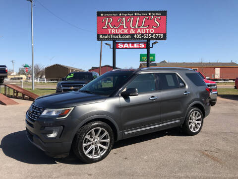 2017 Ford Explorer for sale at RAUL'S TRUCK & AUTO SALES, INC in Oklahoma City OK