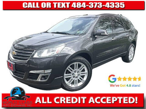 2014 Chevrolet Traverse for sale at World Class Auto Exchange in Lansdowne PA