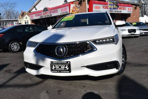 2018 Acura TLX for sale at Foreign Auto Imports in Irvington NJ