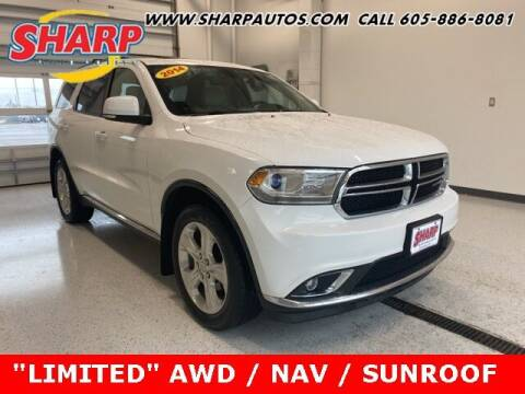 2014 Dodge Durango for sale at Sharp Automotive in Watertown SD