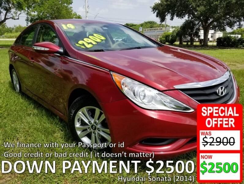 2014 Hyundai Sonata for sale at AUTO COLLECTION OF SOUTH MIAMI in Miami FL
