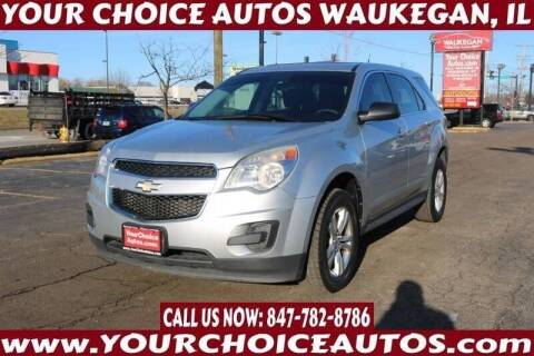 2011 Chevrolet Equinox for sale at Your Choice Autos - Waukegan in Waukegan IL
