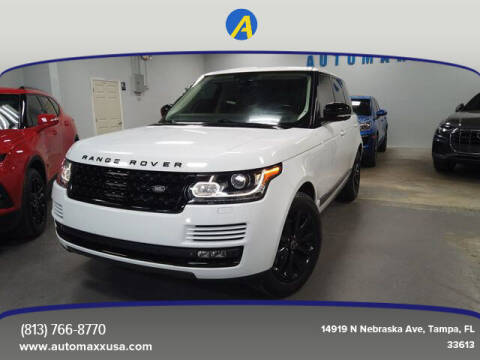 2014 Land Rover Range Rover for sale at Automaxx in Tampa FL