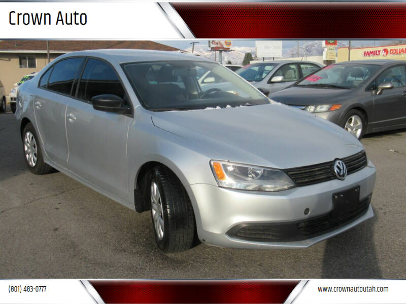 2014 Volkswagen Jetta for sale at Crown Auto in South Salt Lake City UT