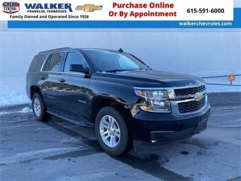 2020 Chevrolet Tahoe for sale at WALKER CHEVROLET in Franklin TN