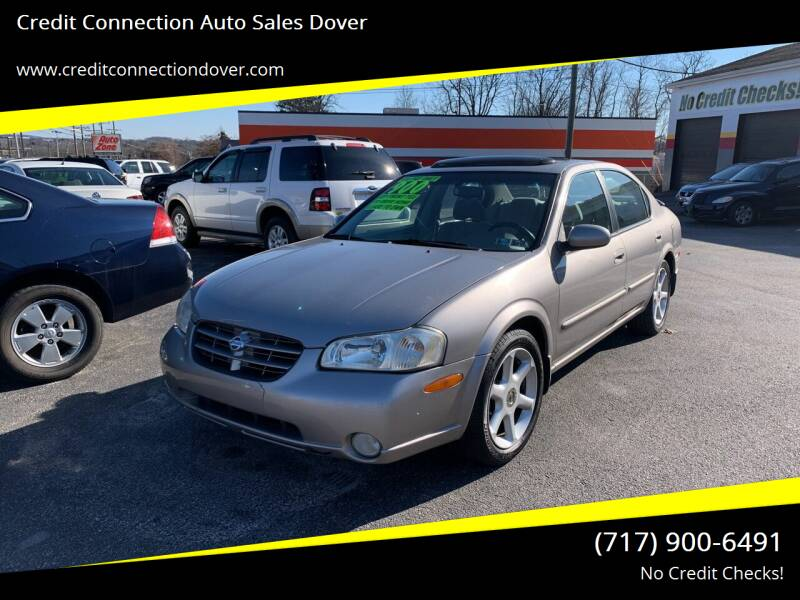 2001 Nissan Maxima for sale at Credit Connection Auto Sales Dover in Dover PA