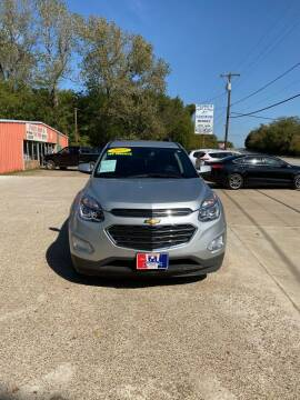 2017 Chevrolet Equinox for sale at MENDEZ AUTO SALES in Tyler TX