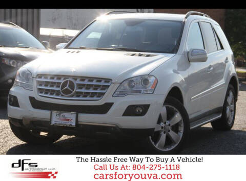 2010 Mercedes-Benz M-Class for sale at DFS Auto Group of Richmond in Richmond VA