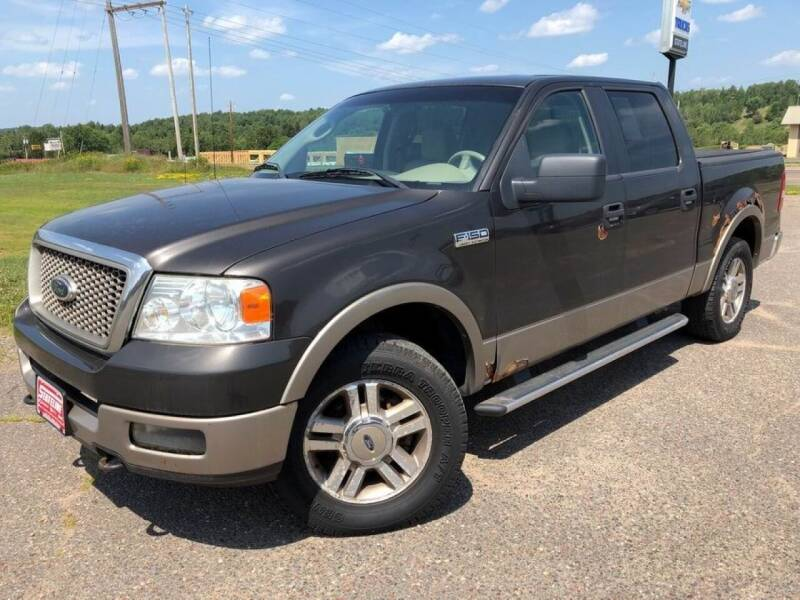 2005 Ford F-150 for sale at STATELINE CHEVROLET BUICK GMC in Iron River MI