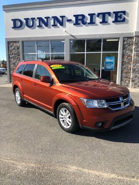 2014 Dodge Journey for sale at Dunn-Rite Auto Group in Kilmarnock VA