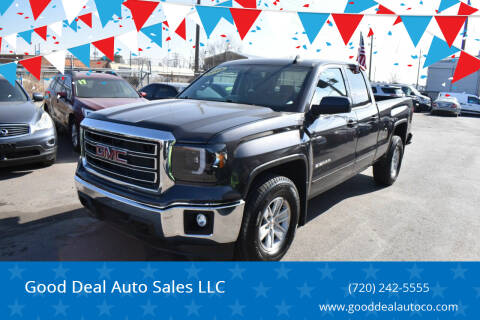 2015 GMC Sierra 1500 for sale at Good Deal Auto Sales LLC in Denver CO