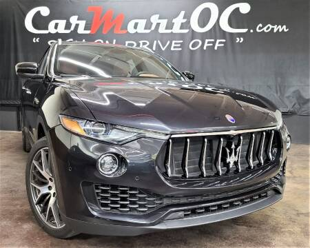 2017 Maserati Levante for sale at CarMart OC in Costa Mesa, Orange County CA