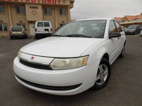2004 Saturn Ion for sale at Best Auto Buy in Las Vegas NV